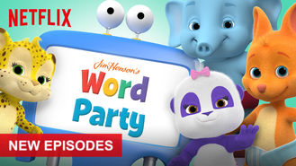Netflix box art for Word Party - Season 3