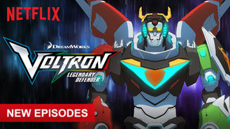 Netflix box art for Voltron: Legendary Defender - Season 4